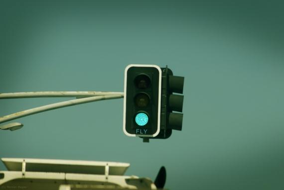 intersection green light